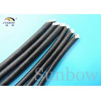 Wholesale Flame Retardant Acrylic Coated Fiberglass Sleeving / Acrylic Insulation Tubing from china suppliers