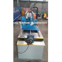 Quality Single line of cold roll forming machine for C and U profile with punching devices for sale