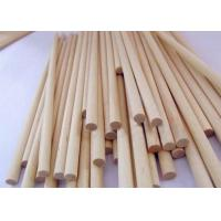 Wholesale Solid Long Wooden Dowel Sticks , Birch Decorative Wooden Dowels from china suppliers
