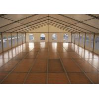 Wholesale Wind Resistant 10MX30M Custom Event Marquee Tent With VIP Wooden Floor from china suppliers