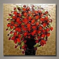 Wholesale Modern Decoration Flower Oil Painting (MDHH-1037) from china suppliers