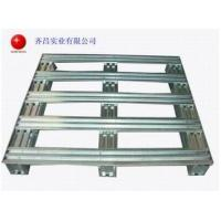 Wholesale Cleanable Metal Storage Galvanized Steel Pallets Logistics Equipment QC1218 from china suppliers