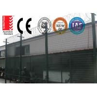 Wholesale High Density 358 Prison Wire Fence High Security ,Top With Razor For Africa Market from china suppliers