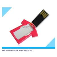 Wholesale Promo Gifts the thinnest credit card shaped usb flash drive Mini Shirt Drive from china suppliers