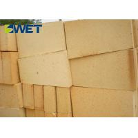 Bulk Density High Alumina Refractory Bricks , Lightweight Fireproof Bricks For Fireplace