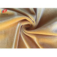 Wholesale Eco Shiny Fleece Spandex Velvet Fabric Soft And Silkly Dress Material No Harmful Chemistry from china suppliers