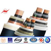 Wholesale XLPE Insulated Steel Wire Armoured 11kv Power Cable 400/500mm² 90°C 110°C from china suppliers