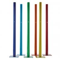 Wholesale Aluminum Poland Led Floor Lamp Telephone Pole Black White Red Blue Yellow from china suppliers