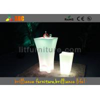 Wholesale Waterproof LED Bar Tables / LED Light Up Bar Table For Outdoor from china suppliers