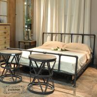 Wholesale metal bed iron art bed design custom from china suppliers