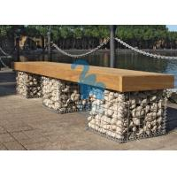 Wholesale Easy Installation Steel Gabion Baskets Welded Stone Gabion Chair For Landscape from china suppliers