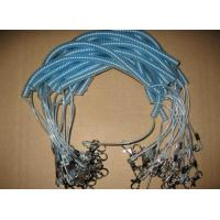 Wholesale Hote sale coiled fishing rod wire leash good quality real steel fishing lanyard tethers from china suppliers