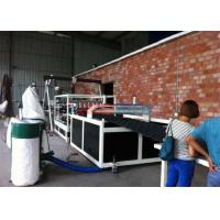Wholesale Hydraulic Plate Rolling Machine Heat Proof PVC Plastic Roofing Tile Making Machine from china suppliers