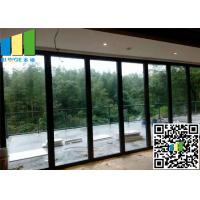 Wholesale Meeting Room Sliding Folding Glass Wall Partition Panels 12mm ~ 0.5 Inch from china suppliers