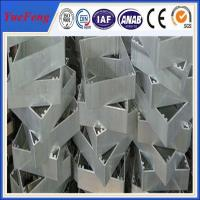 Wholesale OEM industrial aluminium extrusion profile,Aluminium profile for cnc drilling/bended from china suppliers