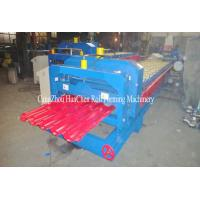 Wholesale Steel Roof Panel Glazed Tile Roll Forming Machine For Construction from china suppliers
