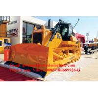 Wholesale 420HP Yellow Hydraulic Shantui Bulldozer SD42, Operation Weight 53T With Cummins Engine, ROPS Cabin, Ripper from china suppliers