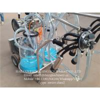 Wholesale Cow Milking Machine With Measuring Buckets , Goat Milking Machine from china suppliers
