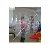 Wholesale Transparent Outdoor Big Inflatable Hamster Ball For Humans / People from china suppliers