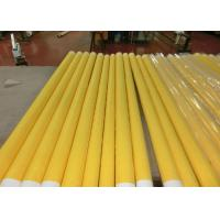 Wholesale Low Elongation Monofilament Polyester Screen Printing Mesh With White And Yellow from china suppliers