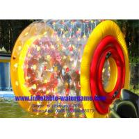 Wholesale Custom Color Dots Inflatable Rolling Ball ,  Giant Inflatable Ball To Ride In from china suppliers