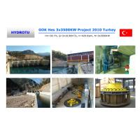 Wholesale Low Water Head Full Kaplan Hydro Turbine With Double Adjustable Blades from china suppliers