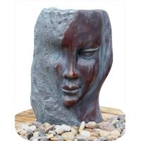 Wholesale Customized Size Indoor / Outdoor Copper Water Fountains In Lady Face from china suppliers