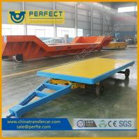 Quality High Load Capacity High Efficient No Power Trailer For Railway Stations for sale