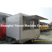 Wholesale Popular Mobile Hot Dog Vending Cart Kiosk For Food Snacks Caravan from china suppliers