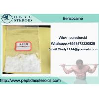Wholesale 99.9% Purity Local Anesthetic Drug Benzocaine In Mass Stock For Pain Relief from china suppliers