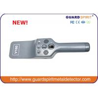 Wholesale Super Sensitivity Hand Held Metal Detector / Portable Body Scanner With Light Alarm from china suppliers