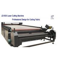 Quality garment industry layout/cloth/sticker/paper co2 laser cutting machine for sale
