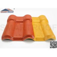 Wholesale Home Synthetic Resin Roof Tile , 11.388 Meters Spanish Roof Tiles from china suppliers