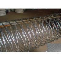 Wholesale BTO22 CBT65 Razor Barbed Wire Zinc Coated Stainless Steel Material from china suppliers