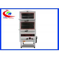 Wholesale 2 Decks Restaurant Chinese Cooking Equipment / Stainless Steel Commercial Food Steamer from china suppliers