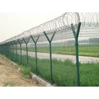 Wholesale Airport construction wire fence/358 security mesh fence/weld wire mesh fence(Made in China) from china suppliers