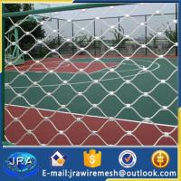 Quality SUS 304L Flexible stainless steel cable mesh for Stadium/Stadium fence for sale