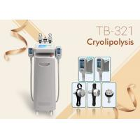 Wholesale 5 Handles RF Ultrasound Cavitations Fat Freezing Cool Sculpting Cryolipolysie Machine from china suppliers