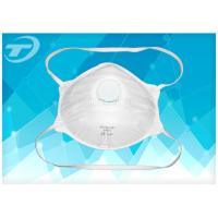 Wholesale FFP 3 Disposable Industrial Face Mask With Valve , Soft Polypropylene from china suppliers