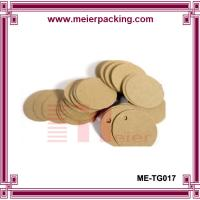 Wholesale Printed Paper Kraft Round Price Tag/Gift Paper Hangtag  ME-TG017 from china suppliers