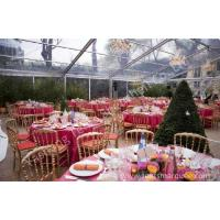 Wholesale Large Square Clear Top Tent with transparent roof for Party and Event from china suppliers