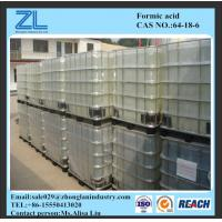 Wholesale Colorless liquid Formic Acid 85%,CAS NO.:64-18-6 from china suppliers