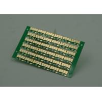 Wholesale Golden Finish Single Sided PCB FR4 Green Soldermasking 1oz Copper from china suppliers