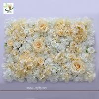 Wholesale UVG romantic rose artificial floral wall for photography backdrop art studio backgroudn decoration CHR1137 from china suppliers