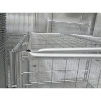 Wholesale 1500mm x 2000mm x 2000mm large size rubbish cage for sale brisbane Quessland hot dipped galvanized rubbish cage contain from china suppliers