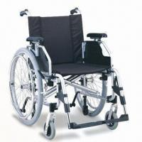 Wholesale Wheelchair with Quick Release Pnuematic Rear Wheel, Carrying and Anti-wheel Features from china suppliers