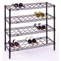 Wholesale Metal Wire Wine Bottle Racks,Wine Storage Chrome Wire Shelvings,Wire Wine Displays from china suppliers