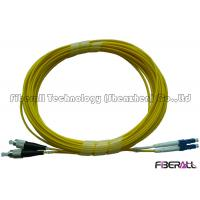 Wholesale Duplex Single Mode Fiber Optic Patch Cord LC/PC To FC/PC With AB Cable Ring from china suppliers