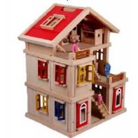 Wholesale Woode Doll House from china suppliers