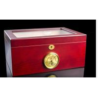 Wholesale Customized Luxury Cigar Gift Box Cases / Groomsmen Antique Cigar Humidor from china suppliers